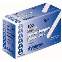 Dynarex 4313 Tongue Depressor Ster Jr 5.5