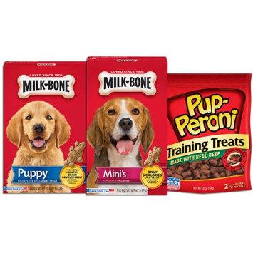 Big Heart Pet Brands Pup-Peroni Puppy Treats Variety Pack, 6.1 lbs