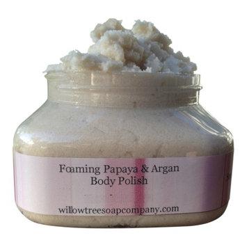 The Willow Tree Soap Company Papaya + Argan Body Polish