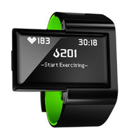 Altas Wearables Atlas Wristband 2: Activity Fitness Tracker Digital Trainer + Heart Rate Band - Green
