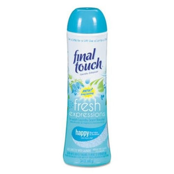Fresh Expressions In-Wash Laundry Scent Booster Happy Blue Lotus & Sunshine, Give your wash a Fresh Expression . By Final Touch