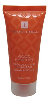 Temple Spa Good Hair Day Shampoo 4 each 1oz tubes. oz (Pack of 4)