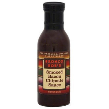Bronco Bob's Smoked Bacon Chipotle Sauce 15.25oz