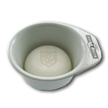 Pfeilring Of America Porcelain Shaving Bowl with Handle with GOLDDACHS Shaving Soap