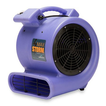 Summit Air Soleairer Max Storm 2800 CFM Air Mover Carpet Blower Floor Dryer Fan Lightweight yet Powerful