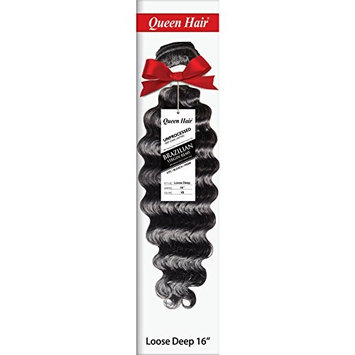Deep Loose Wavy Brazilian Virgin Remy 100% Unprocessed Human Hair Extensions Weft Weave - Sew In or Glue In