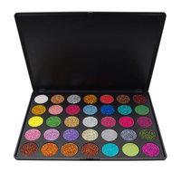 SMTSMT 35 Colors Shimmer Glitter Eye Shadow Highlighter Powder Palette Matte Eyeshadow Makeup Palettes