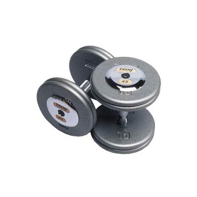 Fixed Pro-Style Dumbbells with Contoured Handle - Set of 2 (110 lbs.)