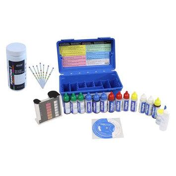 AquaChek Silver 7-Way Pool Chlorine/pH Test Strips + FAS-DPD Liquid Test Kit