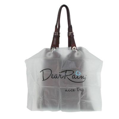 Dear Rain Women's Handbag Poncho, Dear Rain, Nice Try