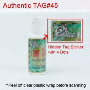 TAG 45 Original Professional Topical Analgesic Gel Cream- 1 oz