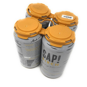 Sap! Maple Carbonated Water (Birch Sparkling Soda Water, Case of 4)