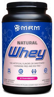 MRM Natural Whey Strawberry 2 lbs