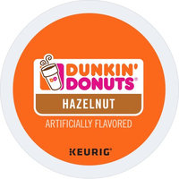 Dunkin' Donuts(R) Coffee K-Cup(R) Pods, Hazelnut, 0.4 Oz, Pack Of 24