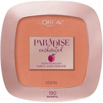 L'Oreal Paris Cosmetics Paradise Enchanted Fruit-Scented Blush Makeup, Bashful, 0.31 Ounce
