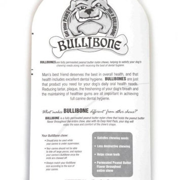 Bullibone Bacon Oral Care Dog Chew, Large