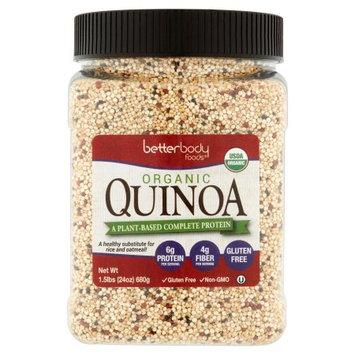 Better Body Foods BetterBody Foods Organic Quinoa, 24 oz