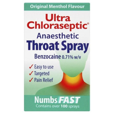 Ultra Chloraseptic Throat Spray Original - 15ml