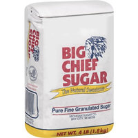 Big Chief 360 4 Lbs. Sugar The Natural Sweetener - Case Of 10