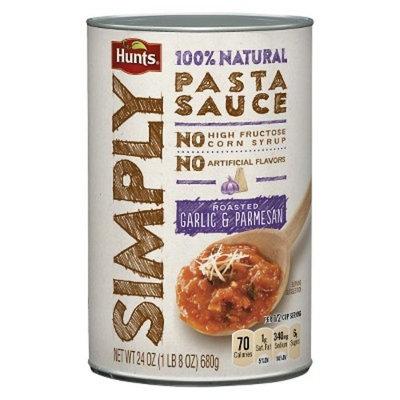 Hunts® Simply Roasted Garlic and Parmesan Pasta Sauce 24 oz