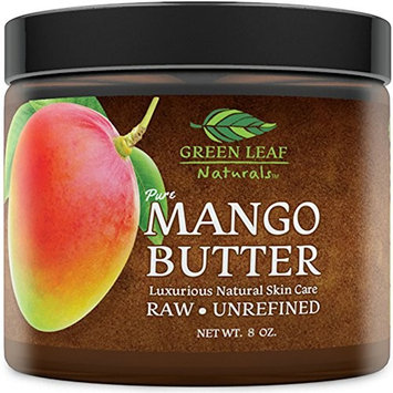 Mango Butter - Raw Unrefined Organic - 100% Pure for Hair and Skin - Smooth and Creamy for DIY Recipes