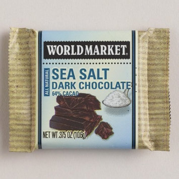 World Market? Changemaker Sea Salt Chocolates, Set of 10gm