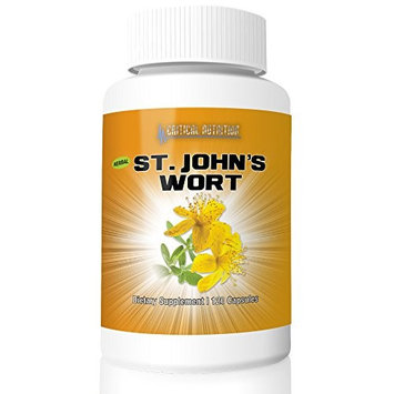 St. John's Wort from Critical Nutrition Comes With 300 Mg (120 Capsules)