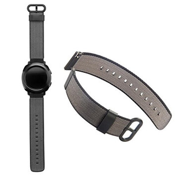 AutumnFall 2017 New Woven Nylon Wrist Strap Replacement Bands For Samsung Gear Sport Watch