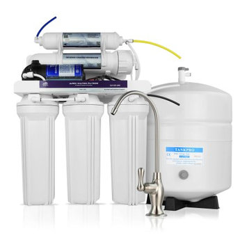 Apex Water Filters APEX MR-5101 5 Stage Reverse Osmosis Water Filter System w/ Pump