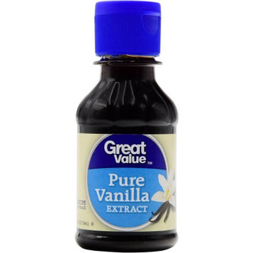Wal-mart Stores, Inc. Great Value Pure Vanilla Extract, 4 oz