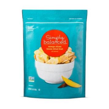 Freeze Dried Mango Slices - 3oz - Simply Balanced™