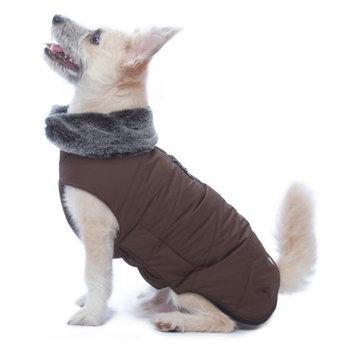 Dog Gone Smart Tamarack Puffy Dog Coat Brown