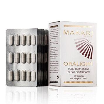 Makari Oralight 100% Drug-Free Skin Lightening Dietary Supplement - Melanin Blocking Regimen for Hyperpigmentation, Age Spots & Uneven Skin - 90 Softgel Capsules