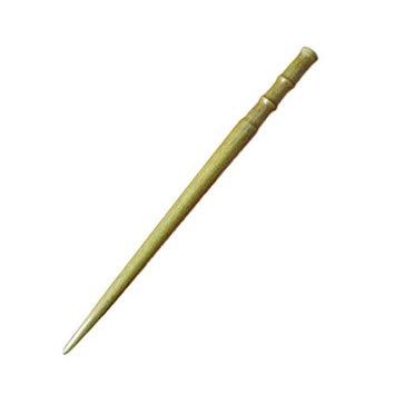 FANTAC CRAFTS Bamboo Handmade Carved Green Sandalwood Hair Stick Wood Hairpin Antique Wooden Hair Accessories Women Girl Pin