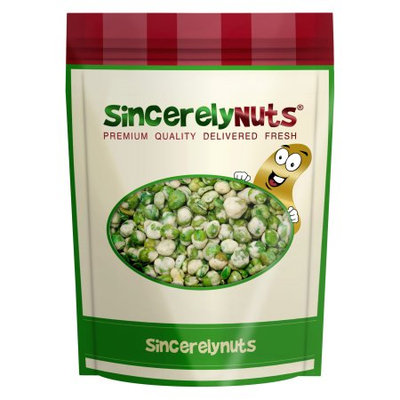 Sincerely Nuts Sincererly Nuts Wasabi Green Peas, 1.5 LB Bag