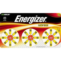 Energizer EZ Turn & Lock Size 10 Hearing Aid Batteries, 16-Count