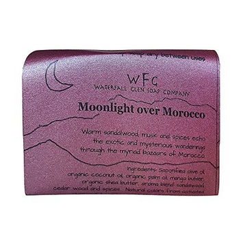 Waterfall Glen Soap - Moonlight over Morocco sandalwood and cedar wood with shea butter