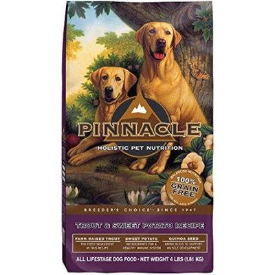 Pinnacle Grain Free All Life Stage Grain-Free Trout & Sweet Potato Recipe Dry Dog Food, 4 Lb