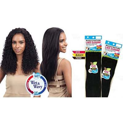 NAKED Nature Brazilian Virgin Remy Hair Wet&Wavy 4