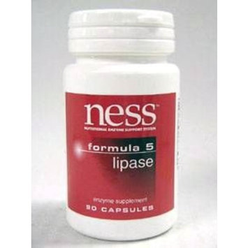 NESS Enzymes Lipase #5 90 caps