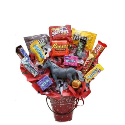 Gordan Gifts Inc The Rodeo Cowboy Gift Basket