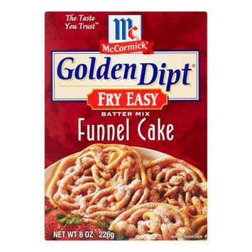 McCormick Golden Dipt Fry Funnel Cake Mix, 8 Oz, 12 Pack