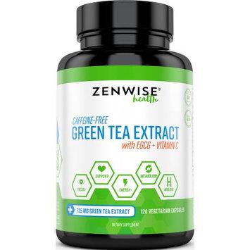 Zenwise Health Green Tea Extract + EGCG, Weight Loss & Energy, 120 Ct