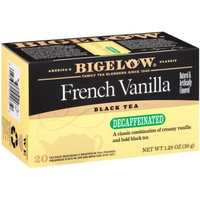 Bigelow Decaf French Vanilla Tea Bags, 20 CT (Pack of 6)