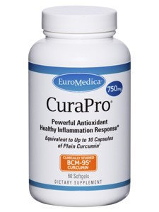 CuraPro 750 mg 60 gels by Euromedica