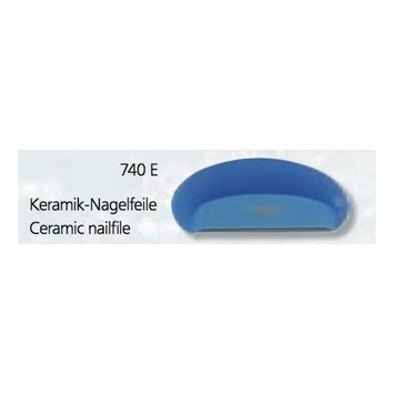 ONE Ceramic Nail File 740e By Nippes Free Shipping ANY Color Available