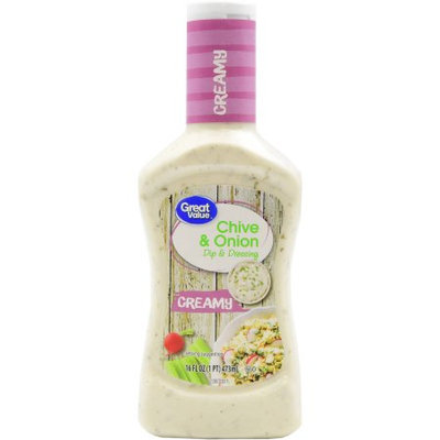 Great Value Creamy Chive And Onion Dip & Dressing