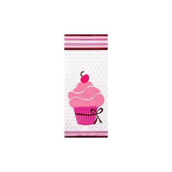 Wilton W1912-0860 Party Bags, 9.5-Inch by 4-Inch, Pink Party, 20-Pack
