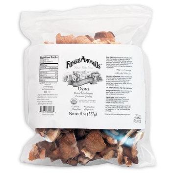 Bulk Dried Organic Oyster Mushrooms - 8 oz - by FungusAmongUs