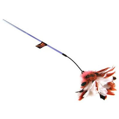 PURRfect Crinkle Bouncer Cat Toy [Options : PURRfect Peacock Feather]
